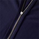 5.6オンス フルジップパーカ(5232-01)ファスナーテープ