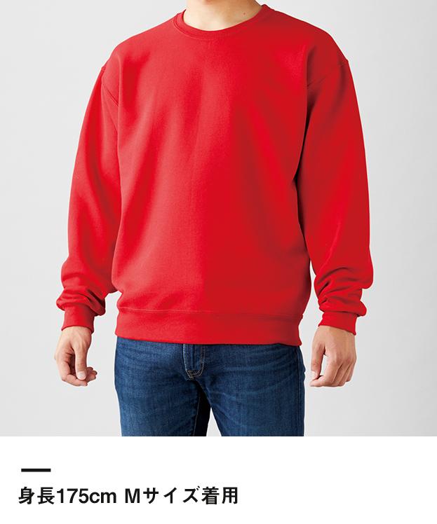 ジャージーズNUBLEND スウェットシャツ(562M)身長175cm Mサイズ着用