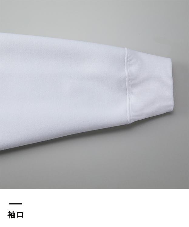 10.0オンス T/Cビッグシルエットスウェットプルオーバーパーカ(裏起毛)(5631-01)袖口