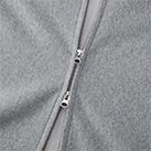 12.0オンス ヘヴィーウェイトスウェットフルジップパーカ(裏起毛)(5762-01)ファスナー(YKK社製ダブルスライダー)