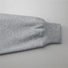 12.0オンス ヘヴィーウェイトスウェットフルジップパーカ(裏起毛)(5762-01)袖口