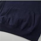 12.0オンス ヘヴィーウェイトスウェットプルオーバーパーカ(裏起毛)(5763-01)裾