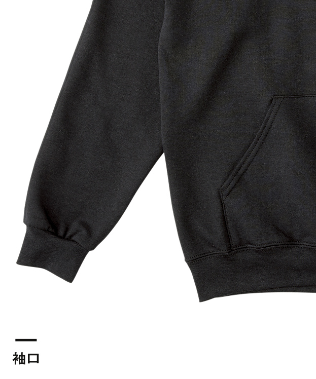 ジャージーズNUBLEND P/Oパーカ(996M)袖口
