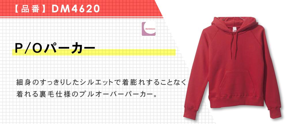 P/O パーカー(DM4620)10カラー・3サイズ