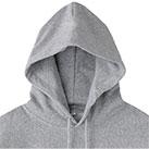 ヘビーウェイトプルオーバーパーカ(MS2130)襟