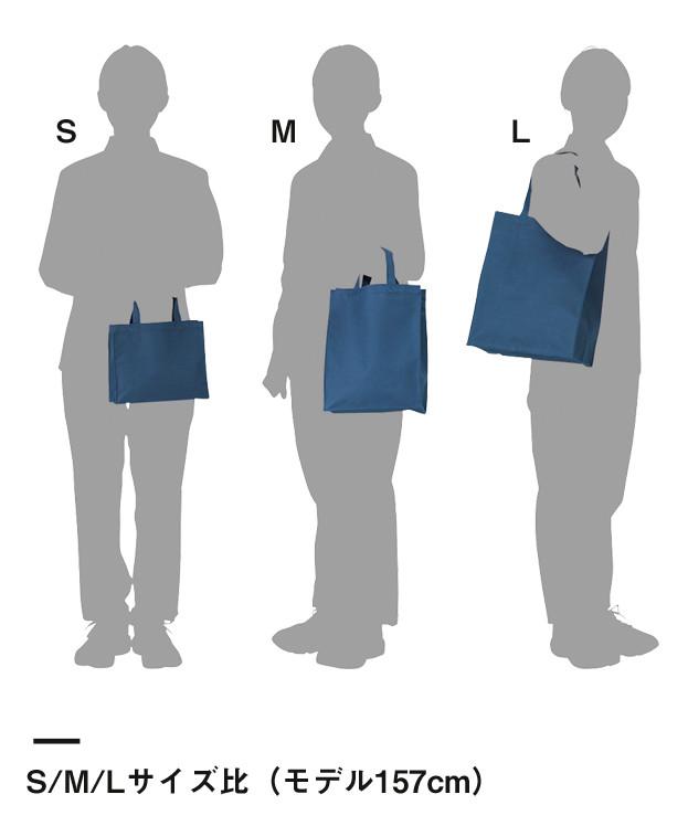 ポリカジュアルバッグ(00763-CUB)サイズ比較