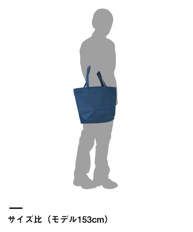 ファスナートートバッグ(00772-FTB)サイズ比