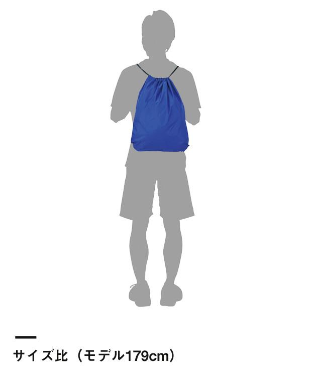 ナイロンランドリーバッグ(00776-NLB)サイズ比