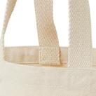 丸底キャンバストート(102-C)持ち手部分綿テープ使用