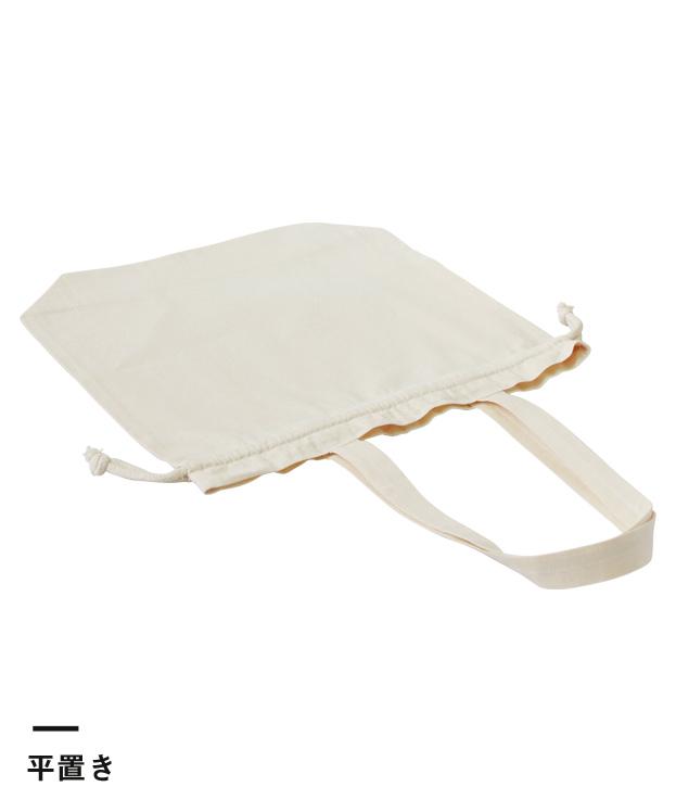 コットンエコ巾着(Lサイズ)(103-C)平置き