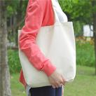 キャンバスバッグ10(111-10)底マチ付きで収納力のあるキャンバスバッグ