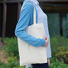 コットンレジ袋(Mサイズ)(117-C)使用イメージ