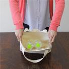 キャンバスエコランチバッグ(62-C)サイズイメージ