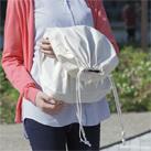 コットン巾着(Lサイズ)(94-C)大きめサイズのコットン巾着