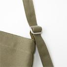 キャンバスミュゼットバッグ(CMB-034)金属バックルでストラップのサイズ調整が可能
