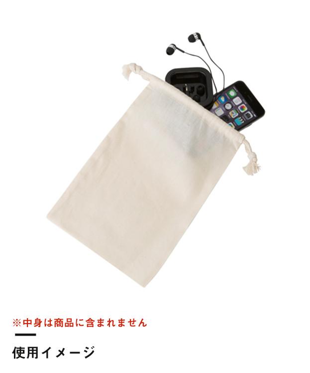 コットン巾着(M)(TR-0293)使用イメージ