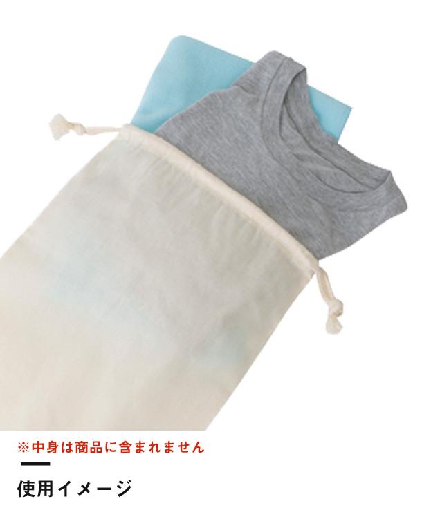 コットン巾着(L)(TR-0294)使用イメージ