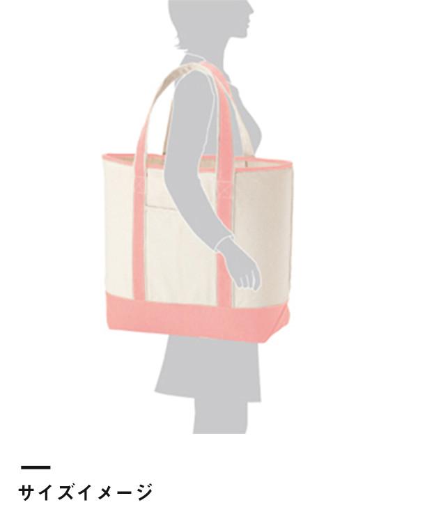 キャンバスバイカラートート(TR-0475)サイズイメージ