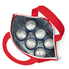 不織布保冷トート(TR-0637)350ml缶6本がぴったりサイズ