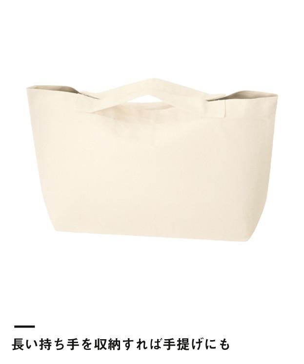 キャンバスWスタイルバッグ(TR-0676)長い持ち手を収納すれば手提げにも