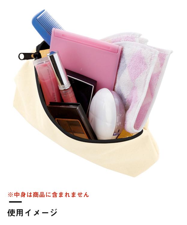 キャンバスベーシックポーチ(TR-0826)使用イメージ02