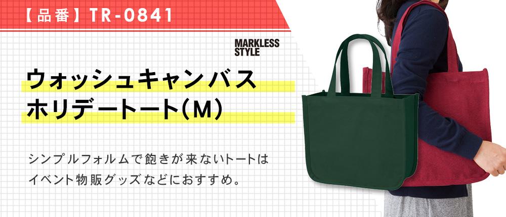 ウォッシュキャンバスホリデートート(M)(TR-0841)6カラー・1サイズ