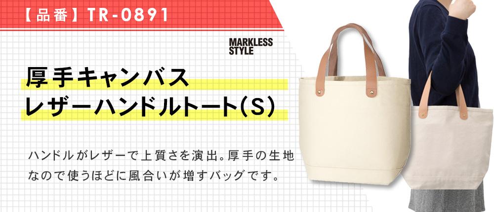 厚手キャンバスレザーハンドルトート(S)(TR-0891)2カラー・1サイズ