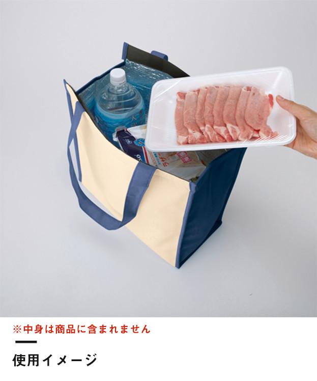 不織布保冷スクエアコンビトート(TR-0926)使用イメージ01