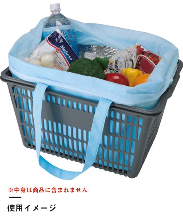 不織布保冷レジカゴトート(TR-0931)使用イメージ