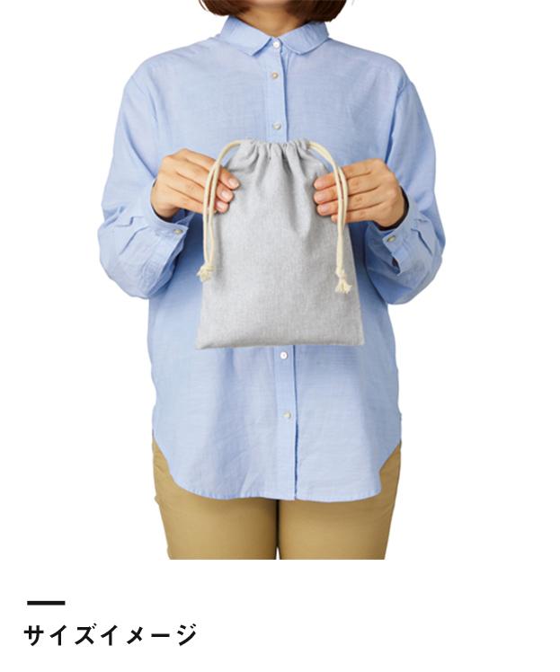 シャンブリック巾着(M)(TR-0977)サイズイメージ