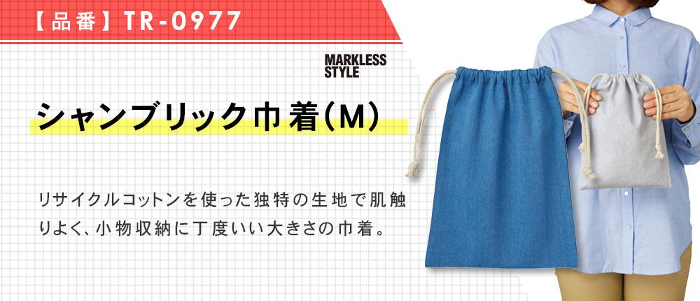 シャンブリック巾着(M)(TR-0977)3カラー・1サイズ