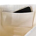 キャンバスショルダートート インナーポケット付(TR-0983)便利な内ポケット