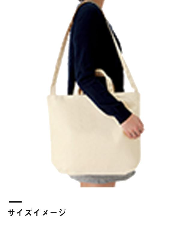キャンバスWスタイルバッグ インナーポケット付(TR-0984)サイズイメージ