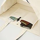 ボックスコンビトート(TR-0994)便利な内ポケット付