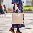 ジュートスクエアトート(M)(TR-1005)ざっくりとした素材感が魅力のジュートバッグ