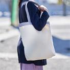 キャンバストップカラーベルトライントート(TR-1018)口元とハンドルのカラーに大人の遊びゴコロを感じるバッグ