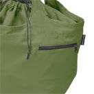 クルリト ビッグマルシェバッグ(TR-1036)カギ等入れるのに便利な外ポケット付き