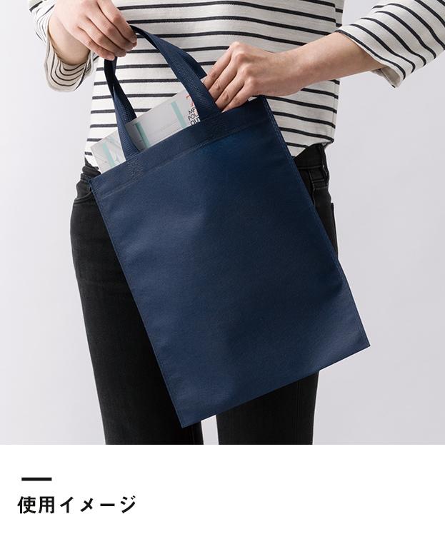 不織布A4トートバッグ(V010365)使用イメージ