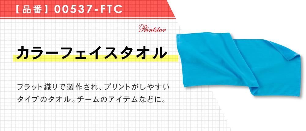 カラーフェイスタオル(00537-FTC)13カラー・1サイズ