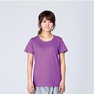 5.6オンス ヘビーウェイトTシャツ(00085-CVT)着用イメージ(ラベンダー/WLサイズ)