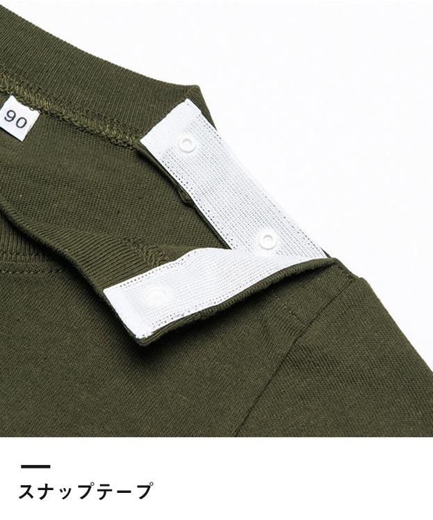 5.6オンス ヘビーウェイトベビーTシャツ(00103-CBT)スナップテープ