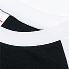 5.6オンス ヘビーウェイトベースボールTシャツ(00107-CRB)襟