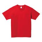 5.6オンス ヘビーウェイトポケットTシャツ(00109-PCT)正面