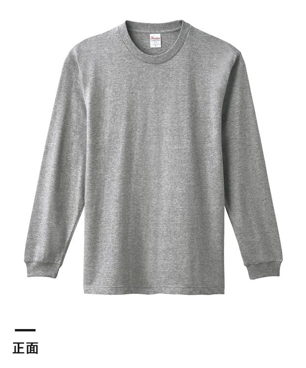 5.6オンス ヘビーウェイトLS-Tシャツ(+リブ)(00110-CLL)正面
