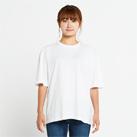 5.6オンス ヘビーウェイトビッグTシャツ(00113-BCV)着用イメージ(ホワイト/Sサイズ)