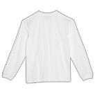 5.6オンス ヘビーウェイトビッグLS-Tシャツ(00114-BCL)背面