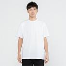 5.8オンス TCクルーネックTシャツ(00117-VPT)着用イメージ(ホワイト/Lサイズ)
