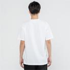 5.8オンス TCクルーネックTシャツ(00117-VPT)着用イメージ(ホワイト/Lサイズ)・背面