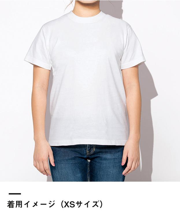 7.4オンス スーパーヘビーTシャツ(00148-HVT)着用イメージ(XSサイズ)