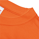 7.4オンス スーパーヘビーTシャツ(00148-HVT)襟:ハードな使用に耐えうる二本針縫製
